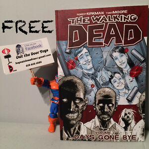 FREE Walking Dead Volume 1 Days Gone Bye Comic Book TPB