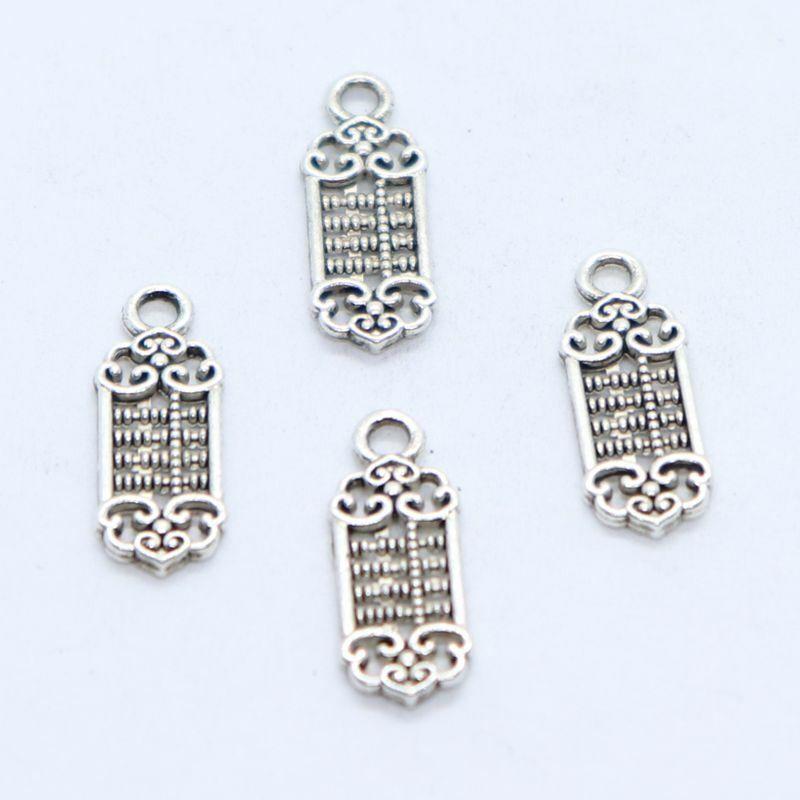 5 x Tibetan Silver Vintage Key Type 13 Charm Pendant Jewellery Making