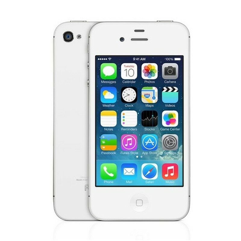 16GB Apple iPhone 4S  GSM Factory Unlocked iOS Smartphone(A+++) - Black & White