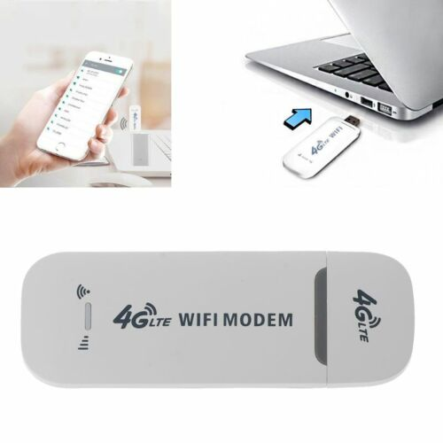 USB Modem 4G LTE Network Adapter With WiFi Hotspot SIM Card
