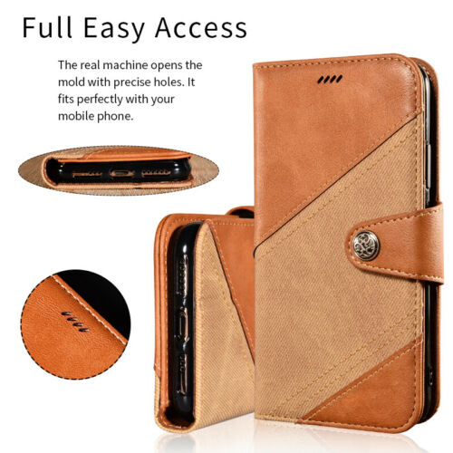 For OUKITEL C17 Pro Case PU Flip Stand Wallet Case Full Pock