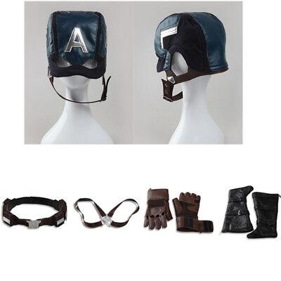 Captain America Civil War Costume Accessories Steve Rogers Strap Belt Props Mask - Captain America Accessories