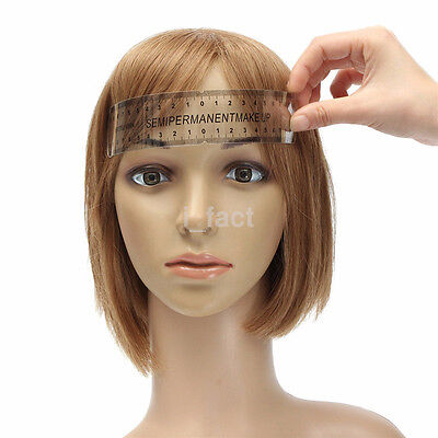 Eyebrow Grooming Stencil Shaper Ruler Eyebrow Ruler Measure Tool for Makeup Hot
