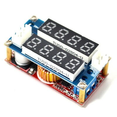 5a Constant Currentvoltage Led Driver Battery Charging Module Voltmeter Ammeter