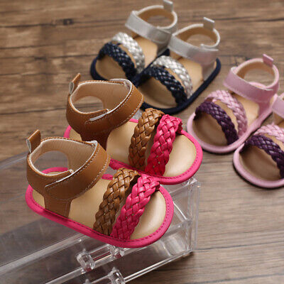 New Arrival Fashion Baby Girl Crib Shoes Infant Child Summer Sandals Size 1 2 -