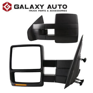 NEW OEM Style Towing Mirrors for 2004-14 Ford F150 - Pair
