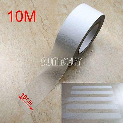 Transparent 4 Anti Slip Tape Stair Tread Length Grip Self Adhesive Backed 10m