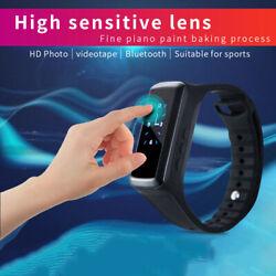 HD 1080P Bluetooth Smart Watch Wristband Camera Mini Video Recorder Camera US