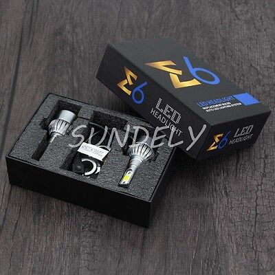 NEW  H7 7600LM LED Headlight Conversion Kit Car Beam Bulb Driving Lamp 6000K UK