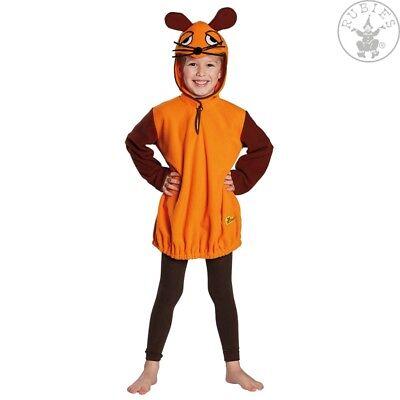 RUB Die Maus Lizenz Kinder Kostüm Die Sendung mit der Maus Karneval 104 - (Kostüm Sendung)