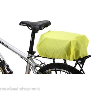 WATERPROOF-RAIN-COVER-for-bike-rear-rack-bags-pannier-Roswheel-17221-yellow-UK