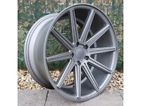 """19"""" Staggered Hüb V10 on tyres for a Mercedes C-Class ETC"""