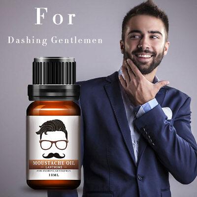 -93% ORGANIC HAIR GROWTH ESSENCE Beard Oil Facial Hair Moustache Oils Pure Beard