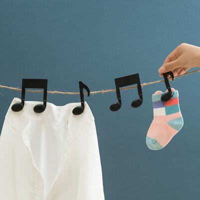 2pcs Musical Note Clip Photo Craft Letter Paper Clip Pege Decoration Hot Sale](Musical Note Paper)
