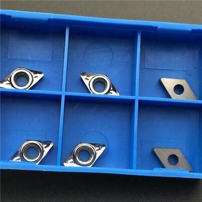 For Aluminum Dcgt070208-ak H01 Dcgt21.52 Carbide Inserts Cutter Blade Dcmt070208