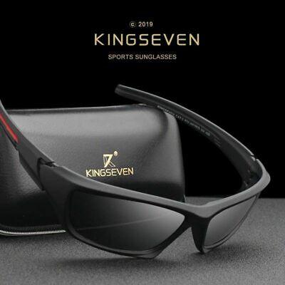 Kingseven Männer Sport HD Polarisierte Sonnenbrille hohe Qualität Starker Rahmen