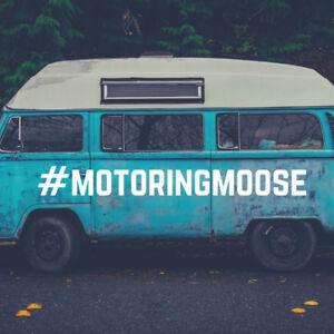 Motoring Moose Camper Van