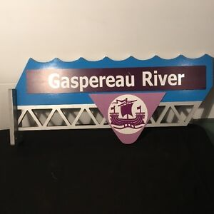 Gaspereau River Sign for SALe