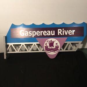 Gaspereau River Sign for SALe