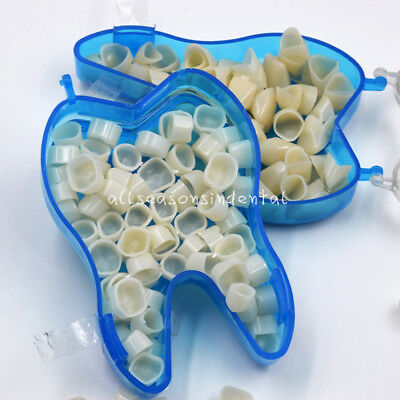 Dental Temporary Crowns Resin Teeth Tooth Polycarbonate Caps Anteriorposteriors
