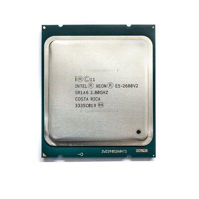 *Intel Xeon E5-2680 v2 2.80GHz SR1A610-Core OEM  Garantie & MwSt. 19%* usato  Spedire a Italy