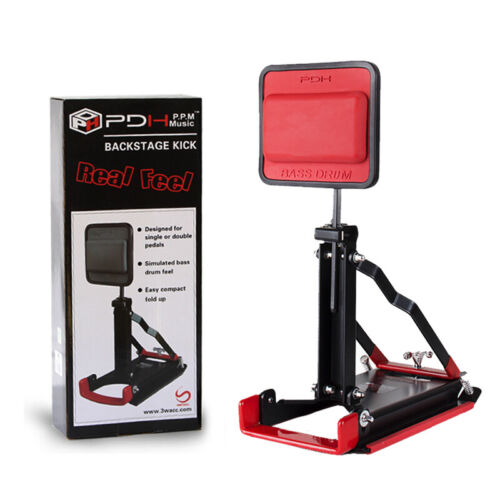 PDH Pedal Bass Drum Practice Stand FOLDING PAD RealFeel Fit for All Pedals