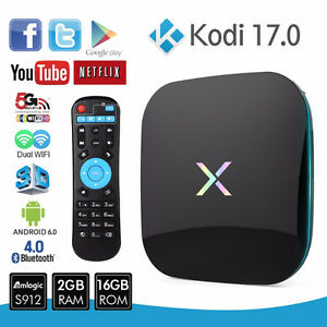 ANDROID TV 6.0 XPLAYER  4K ULTRA KODI & SHOWBOX IPTV LOADED