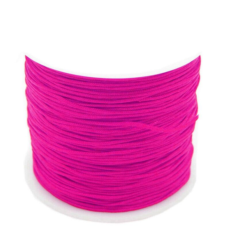 1//2x 0.8mm micro cord braided cord 55m parachute line parachute cord New