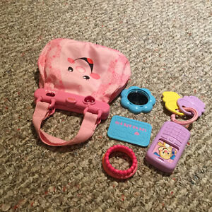 Fisher Price Purse with sounds and accessories
