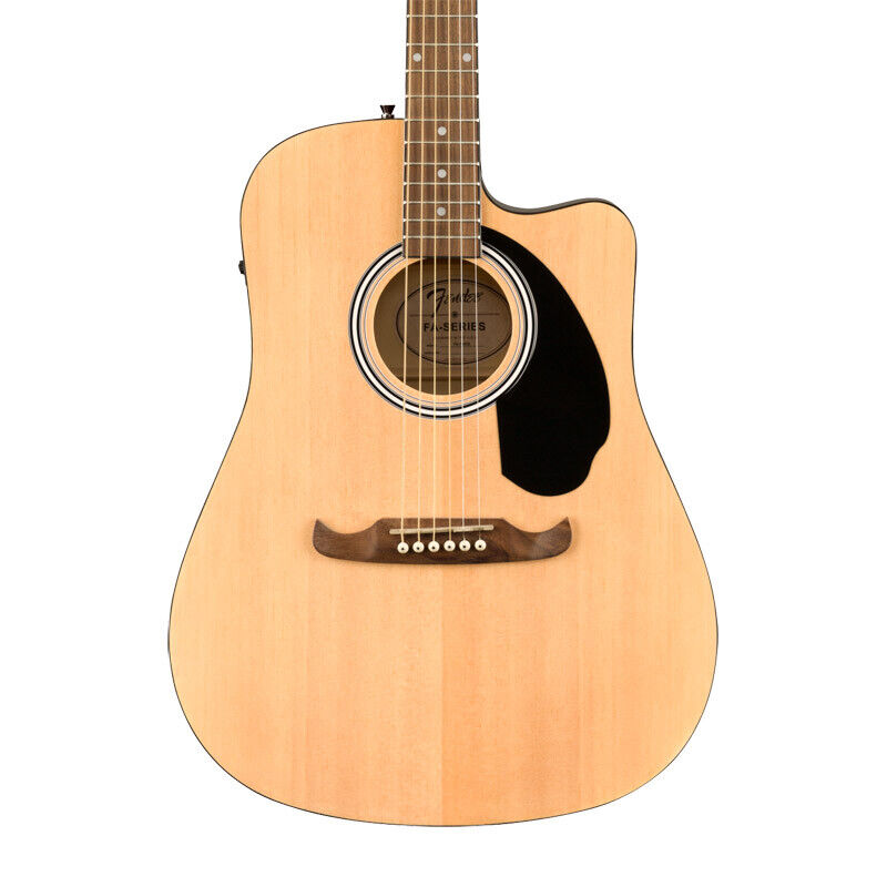 Fender FA-125CE Dreadnought Electro-Acoustic Guitar, Natural (NEW)