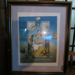 Salvador Dali The Madonna of Port Lligat Signed Lithograph #ed Kitchener / Waterloo Kitchener Area image 2