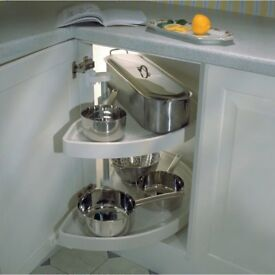 Hafele Kitchen Unit Carousel - double semi circle.