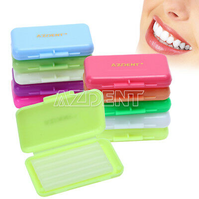 0.99 Dental Orthodontic Wax Fit Relief Braces Gum Irritation 7 Flavors Usps