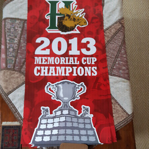 Mint Poster -HFXMooseheads 2013 Memorial Cup Championship