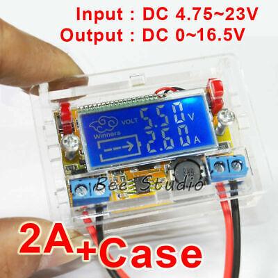 Digital Lcd Dc 5v-23v To 3.3v 6v 9v 12v Buck Step Down Converter Volt Regulator