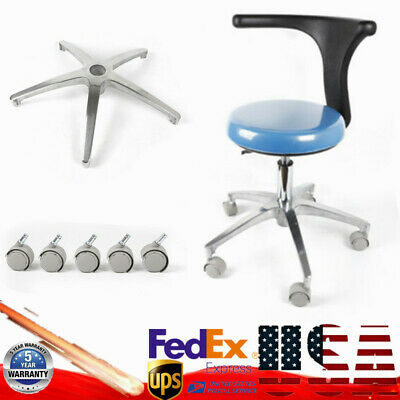 Professional Ergonomic Dental Stool Dentist Doctor Assistant Chair W Torso Arm