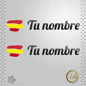 STICKER-BANDERA-ESPANA-NOMBRE-EDITABLE-PERSONALIZADO-PEGATINA-VINILO-ADHESIVO
