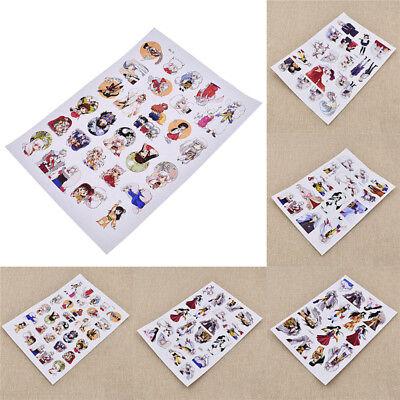 Sesshoumaru Stickers Decals Anime Inuyasha DIY Scrapbooking Diary Notebook (Diy Notebook)