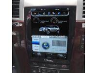 Tesla Style Vertical HD Screen Android 6.0 Car GPS Navigation For Cadillac Escalade