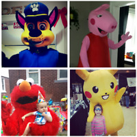 Mascots available for hire!!