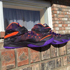 Air Jordan and Lebron shoes size 10