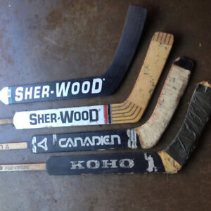 4 goalie sticks 100.00 for all.    Used to new