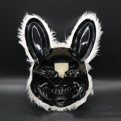 UK Bloody Rabbit Halloween Cosplay Scary Mask Costume Fancy Dress Costume Mask