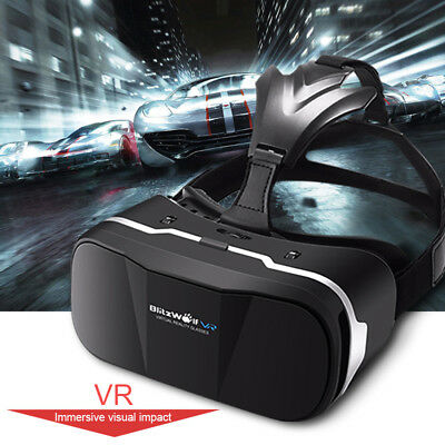 BlitzWolf 3D Virtual Reality VR Glasses Viewer Headset For iPhone Samsung -UK