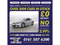 Porsche Panamera 3.0TD ( 300bhp ) Tiptronic 2013MY GOOD/BAD CREDIT CAR FINANCE