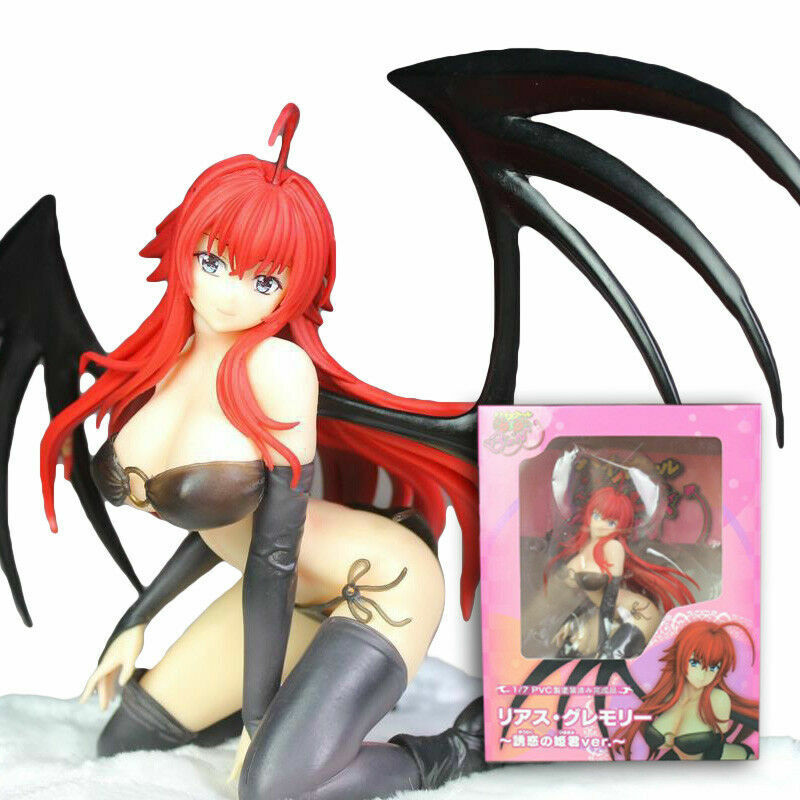 Sexy Anime High School DxD BorN Rias Gremory Soft Chest Kneeling Swimsuit Figure Animation Art & Characters