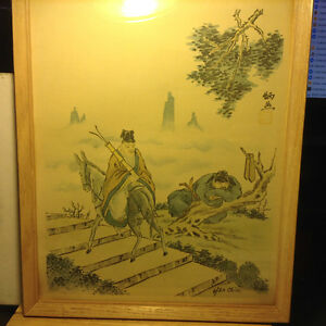 Antique Signed Chinese Painting