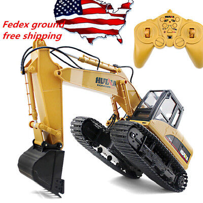 Remote Control Excavator RC Construction Tractor Vehicle Truck Toy Digger Car ()