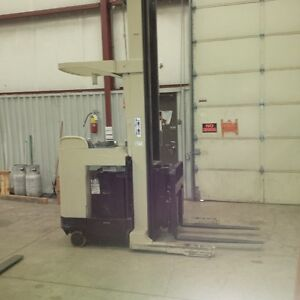 RACKING/SHELVING & ELECTRIC FORK LIFT MODEL RD3540-30