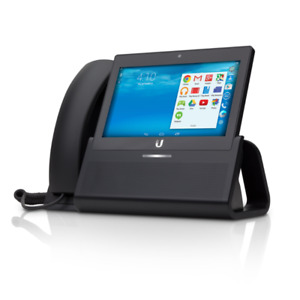 "Ubiquiti Networks. Enterprise VoIP Phone with 7"" Touchscreen"